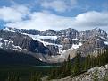 Crowfoot Mountain and Glacier