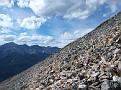 Boulder field around 1st peak
