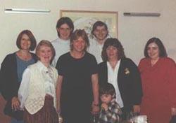 Ann, Beryl, Taz, Elaine, Tony Walker, Pam, Sue. Little Aaran:)