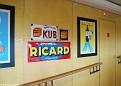 Café Bordeaux - Pictures along Hallway