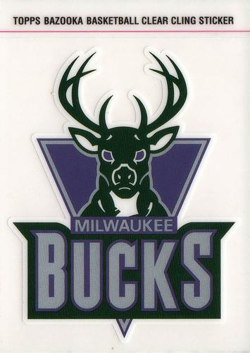 2005-06 Bazooka Cling Milwaukee Bucks