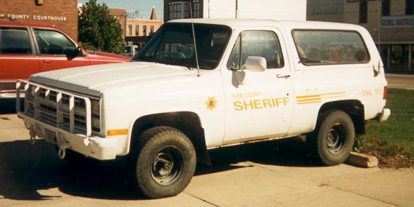 NE - York County Sheriff