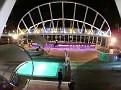 Night time Pool Deck 3
