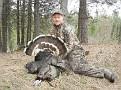 Gobbler #2 Taken at 850am, 9 25 in  beard, 1 in  spurs 41612