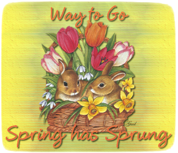 Way to Go-gailz-bunnies and tulips-MC