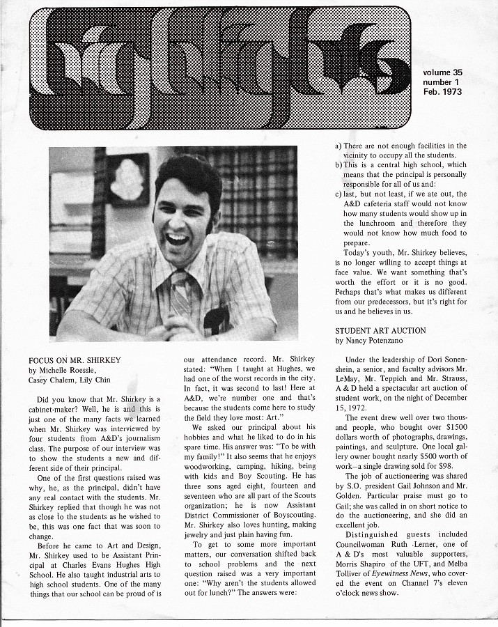 Highlights Newsletter 1974