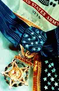 Photograph, Medal of Honor and Flags
