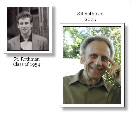 Sol Rothman Class of 1954