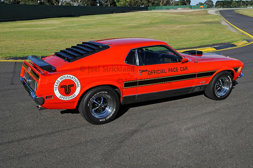 1970 Ford Mustang Mach 1 Sportsroof -  Calypso Coral - ARI Texas International Speedway Pace Car