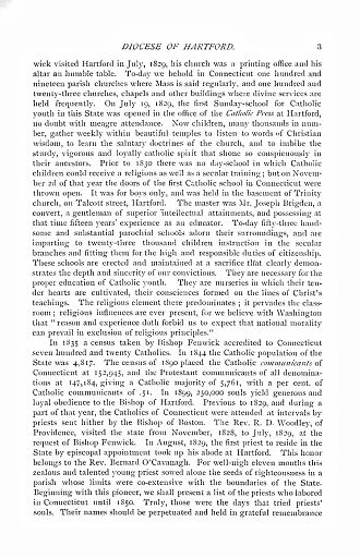 DIOCESE OF HARTFORD - PAGE 003