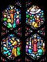COLLINSVILLE - ST PATRICK'S CHURCH - STAINED GLASS - 83