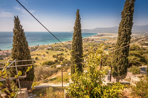 View from Panagia Spiliani Monastery