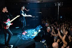NEW YORK, NY - MAY 06: Russian singer Dima Bilan perform on the stage during his Amrerican concert tour at Stage 48 on May 06, 2016 in New York City.