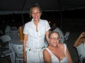 Mrs Yanick Martin head of Tourism Bureau in Jacmel in the company of Dorothy Gardere Chancy