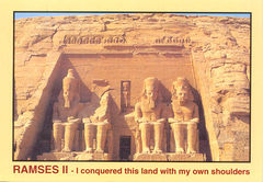 Egypt - Abu Simbel Tombs