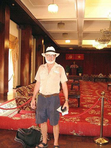 TBill in the Presidential Palace