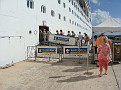 Getting back on the ship via the gangway