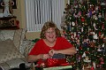 Aunt Terry opening gifts (2)